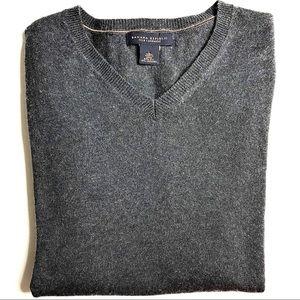Banana Republic Silk Cashmere V Neck Sweater Sz L